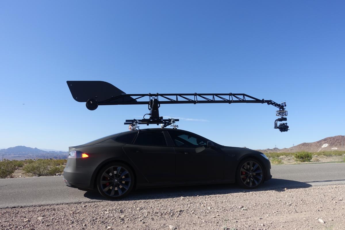 Tesla Camera Car